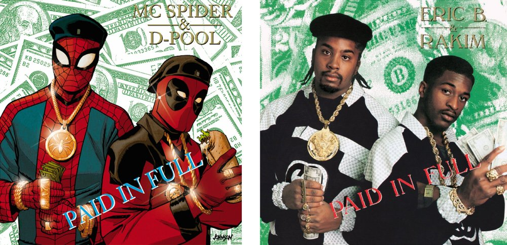 Spiderman & Dead Pool are Eric B. and Rakim